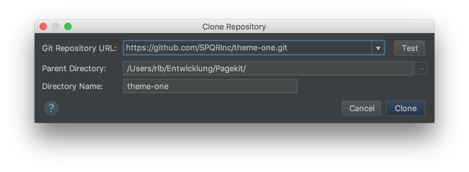 Fork phpstorm clone repository